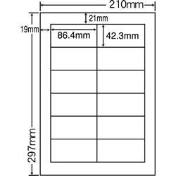 ナナ CL-11 レーザープリンタ用ラベル
