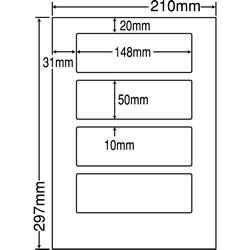 ナナ LDW4SB シートカットラベル(ページプリンタ用ラベル)