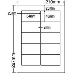 ナナ MRA210 シートカットラベル(ワープロ用ラベル)