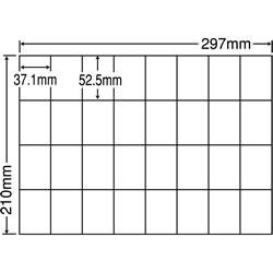 ナナ C32U シートカットラベル(マルチタイプ)