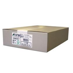 エーワン 28647 レーザープリンタラベル A4判10面