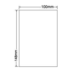ナナ SCJH7(L) 光沢ラベル ハガキサイズ カラーインクジェット