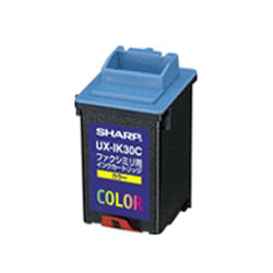 SHARP UX-IK30C カラーファクシミリ用インクカートリッジ