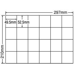 ナナ C24P シートカットラベル(マルチタイプ)