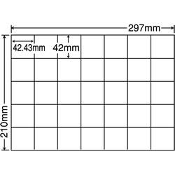 ナナ C35Q シートカットラベル(マルチタイプ)