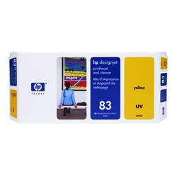 HP C4963A HP83 プリントヘッド/クリーナー UV イエロー