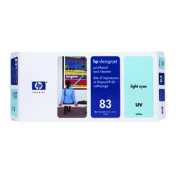 HP C4964A HP83 プリントヘッド/クリーナー UV ライトシアン