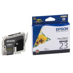EPSON ICBK23 インクカートリッジ フォトブラック 純正