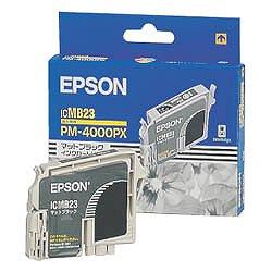 EPSON ICMB23 インクカートリッジ マットブラック 純正