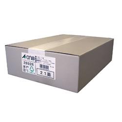 エーワン 28926 インクジェットプリンタラベル A4判 21面