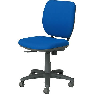 オフィスチェア「VC1」 肘無し ブルー