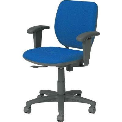 オフィスチェア「VC1」 肘付き ブルー