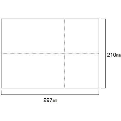 小林クリエイト EIAJ-2 ページプリンタ用標準納品書 白紙