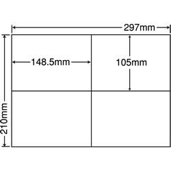 ナナ C4iF シートカットラベル(再剥離タイプ)