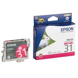 EPSON ICM31 インクカートリッジ マゼンタ 純正