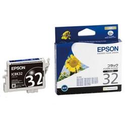 EPSON ICBK32 インクカートリッジ ブラック 純正