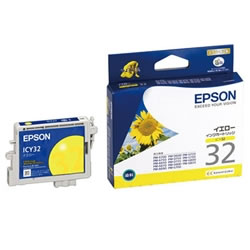 EPSON ICY32 インクカートリッジ イエロー 純正