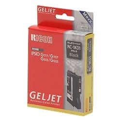 RICOH 509806 GELJETカートリッジ ブラック RC-1K01