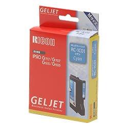 RICOH 509807 GELJETカートリッジ シアン RC-1C01