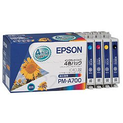 EPSON IC4CL32 インクカートリッジ 4色セット 純正