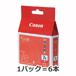 CANON 9816A001 BCI-7R レッド インクタンク