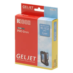 RICOH 509836 GELJETカートリッジ シアン RC-1C12