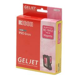 RICOH 509837 GELJETカートリッジ マゼンタ RC-1M12