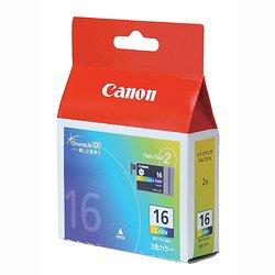 CANON 9818A001 BCI-16 Color カラーインクタンク BCI-16CLR 純正 2個パック