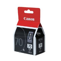 CANON 0390B001 BC-70 FINEカートリッジ ブラック 純正
