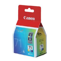 CANON 0392B001 BC-71 FINEカートリッジ 3色カラー 純正
