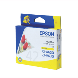 EPSON ICY42 インクカートリッジ イエロー 純正