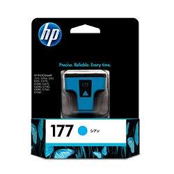 HP C8771HJ HP177 プリントカートリッジ シアン 純正