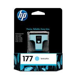 HP C8774HJ HP177 プリントカートリッジ ライトシアン 純正