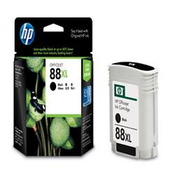 HP C9396A HP88 インクカートリッジ 黒 純正