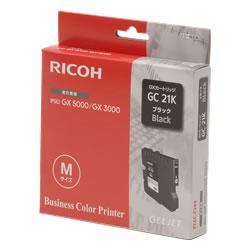 RICOH 515627 GXカートリッジ ブラック GC21K Mサイズ