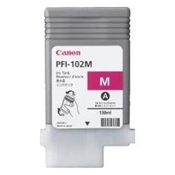 CANON 0897B001 PFI-102M インクタンク 染料マゼンタ
