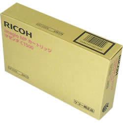 RICOH 636179 MPカートリッジ マゼンタ C1500 純正