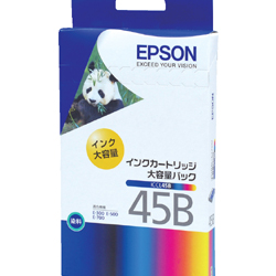 EPSON ICCL45B インクカートリッジ(大容量) 4色一体型 純正