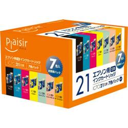 Plaisir PLE-E217P インク 7色パック 汎用品