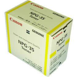 CANON 0455B001 NPG-35 トナー イエロー 国内純正