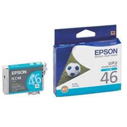 EPSON ICC46 インクカートリッジ シアン 純正