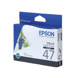 EPSON ICBK47 インクカートリッジ ブラック 純正