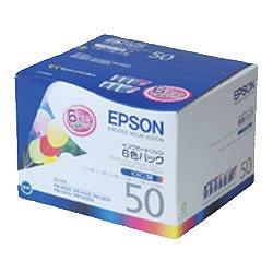 EPSON IC6CL50 インクカートリッジ 6色パック 純正