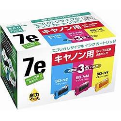 エコリカ ECI-CA07E3P/BOX リサイクルインク
