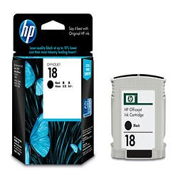 HP C4936A HP18 インクカートリッジ 黒 純正