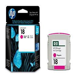 HP C4938A HP18 インクカートリッジ マゼンタ 純正