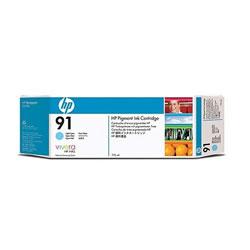 HP C9470A HP91 インクカートリッジ ライトシアン 顔料系 純正