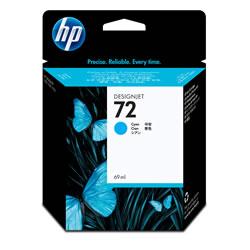 HP C9398A HP72 インクカートリッジ シアン 染料系 純正