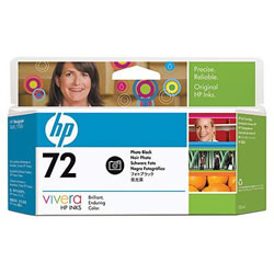 HP C9370A HP72 インクカートリッジ フォトブラック 染料系 純正