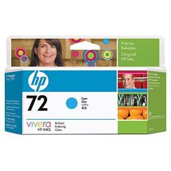 HP C9371A HP72 インクカートリッジ シアン 染料系 純正